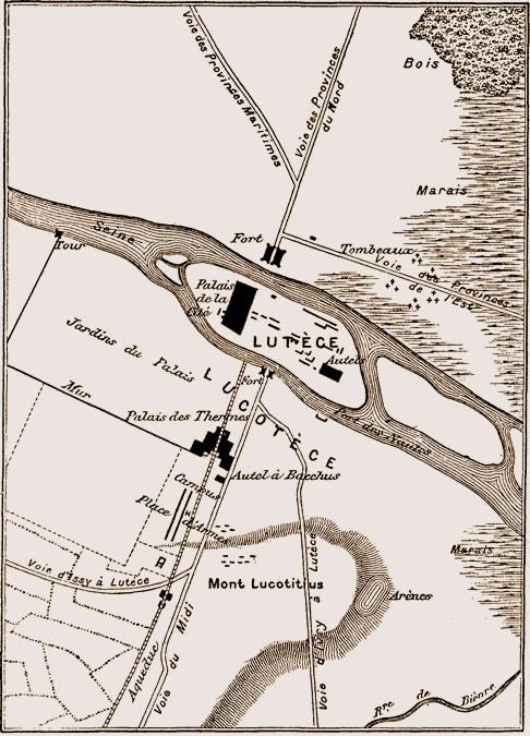 I. Lutèce. — Paris gallo-romain. Livre-1-chapitre-1-4